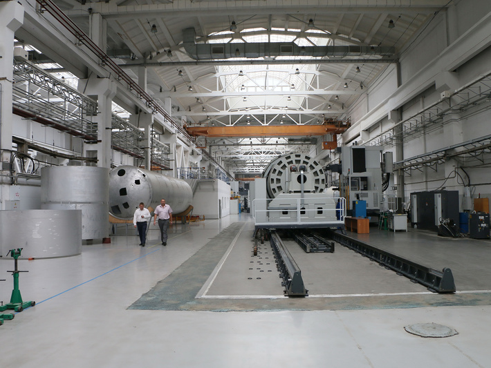 Омск, «Полет»: завершено строительство второй очереди новой производственной площадки