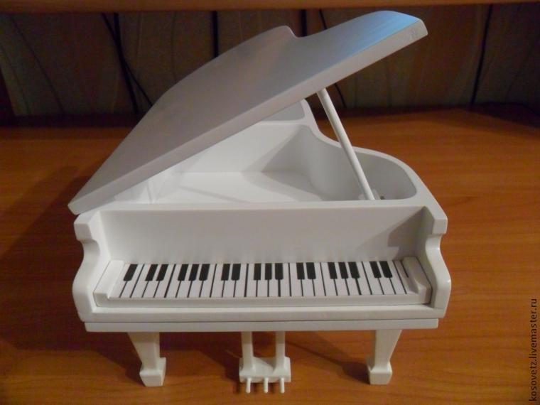 Поделка рояль своими руками 6