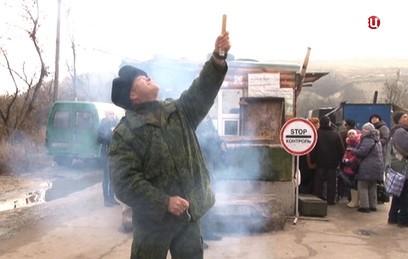 Украина сорвала отвод войск у Станицы Луганской