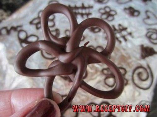 Картинки по запросу Украшения из шоколада