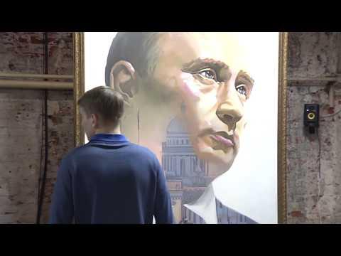 SUPERPUTIN: в Москве открылась выставка, посвященная президенту