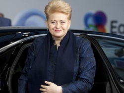 В Давосе президент Литвы намерена обратить внимание на Россию
