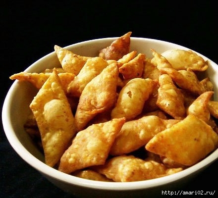 Хрустящий картофельный хворост, напоминающий вкус чипсов
