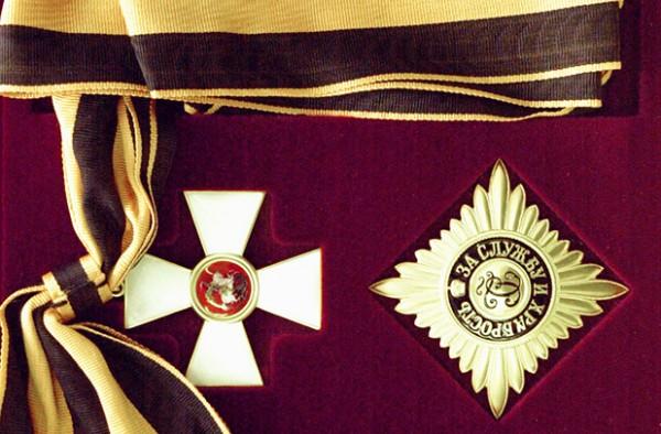 Орден Святого Георгия: два с половиной века знаку высшей доблести