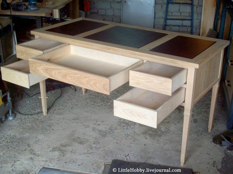 Письменный стол своими руками