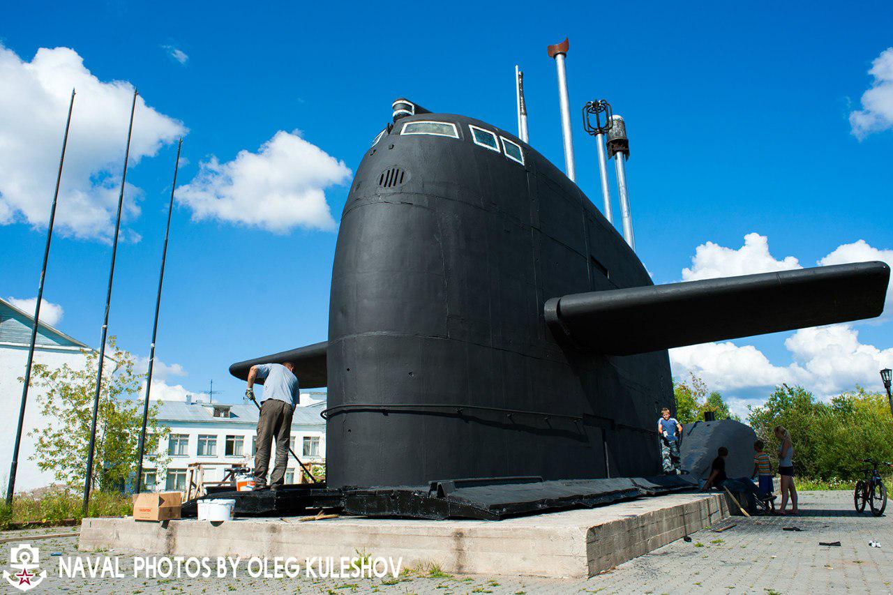 рубка подводной лодки в красавино