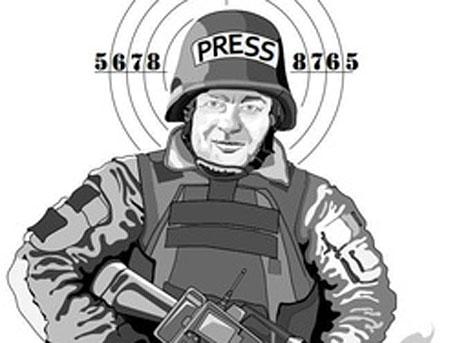 Михаил Пореченков стал мишенью для украинских солдат