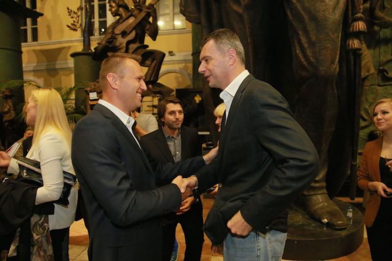 Прохоров обвинил Навального в клевете