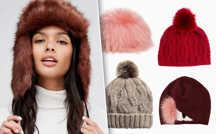 Самые модные шапки этого сезона