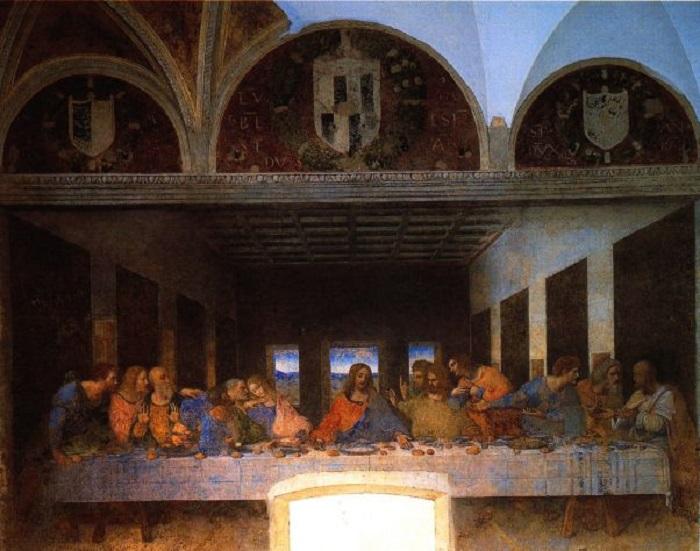 Картинки по запросу Длительность посещения «Тайной вечери» Леонардо Да Винчи продлят