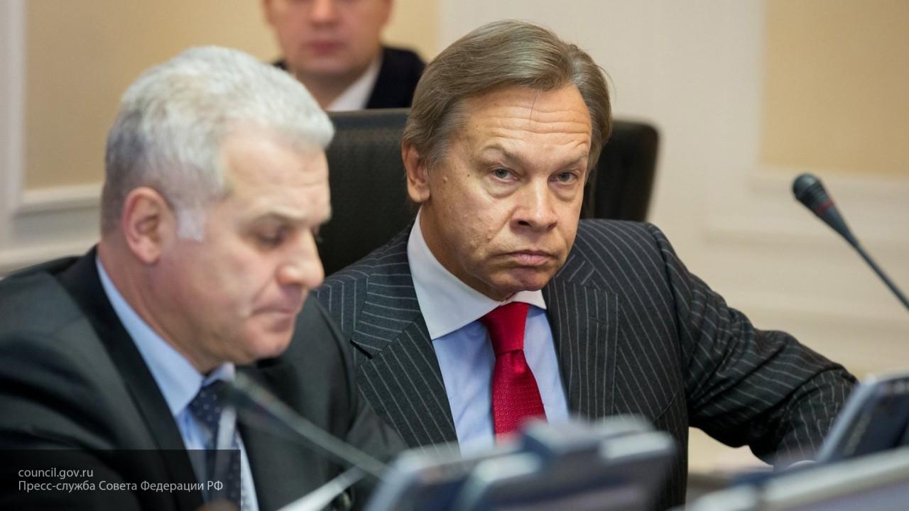 «Пусть за нас платит Украина»: Пушков оценил слова генсека СЕ о членских взносах РФ