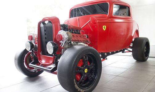 Энцо перевернулся бы в гробу: Ford 1932 года с двигателем Ferrari