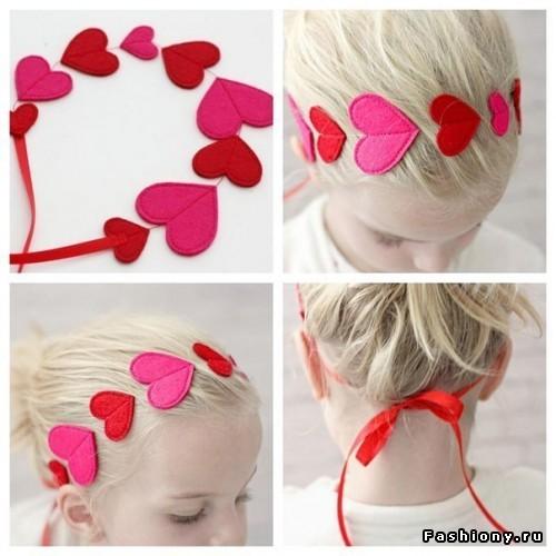 Как сделать повязку на голову из фетра для девочки