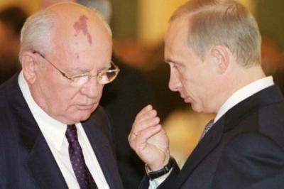 Глупость и предательство генсека. Почему Путин не здоровается с Горбачевым.