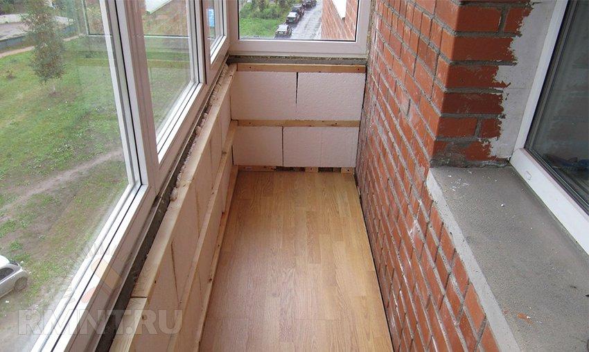 Dirtyelectrics материалы, инструменты для утепления балкона..