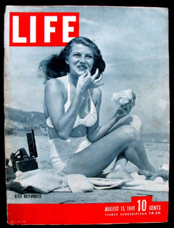 Картинки по запросу рита хейворт журнал life