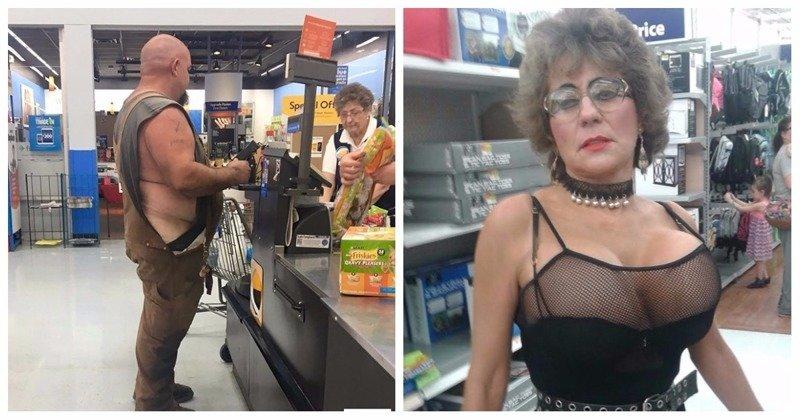 Странные посетители американских супермаркетов (23 фото)