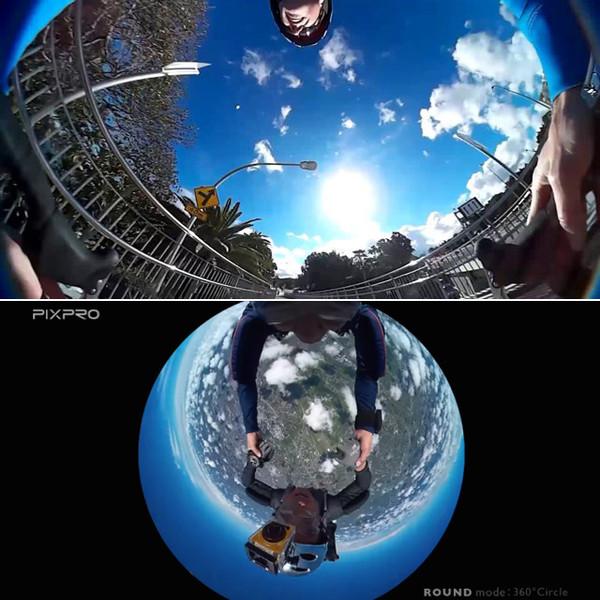 Экшн на 360 градусов — камера Kodak SP360  - Фото 2