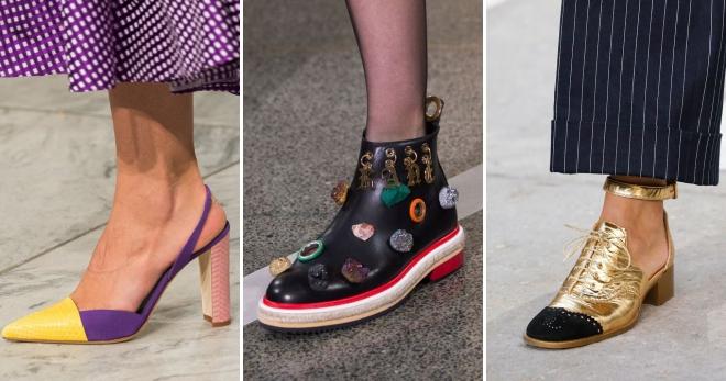 Туфли весна 2018 года – модные тенденции, тренды, новинки сезона