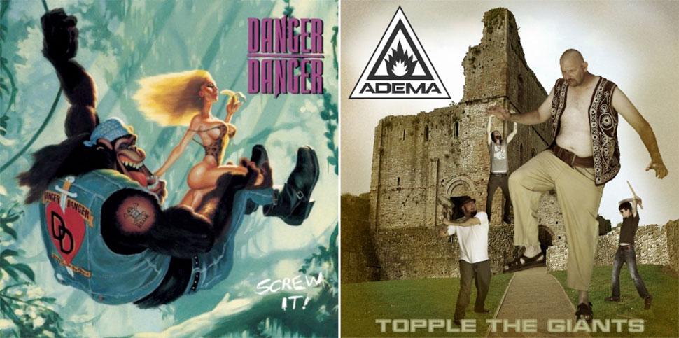 Брутальный хеви-метал и его трешевые обложки альбомов