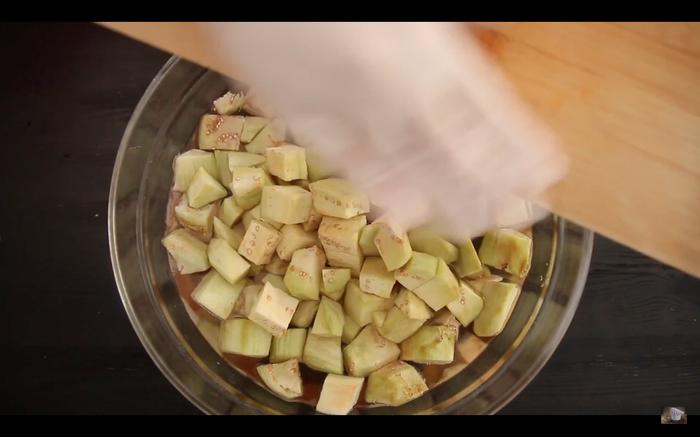 Баклажаны по Китайски. Рецепт, Кулинария, Видео, Еда, Длиннопост, Баклажан, Китайская кухня