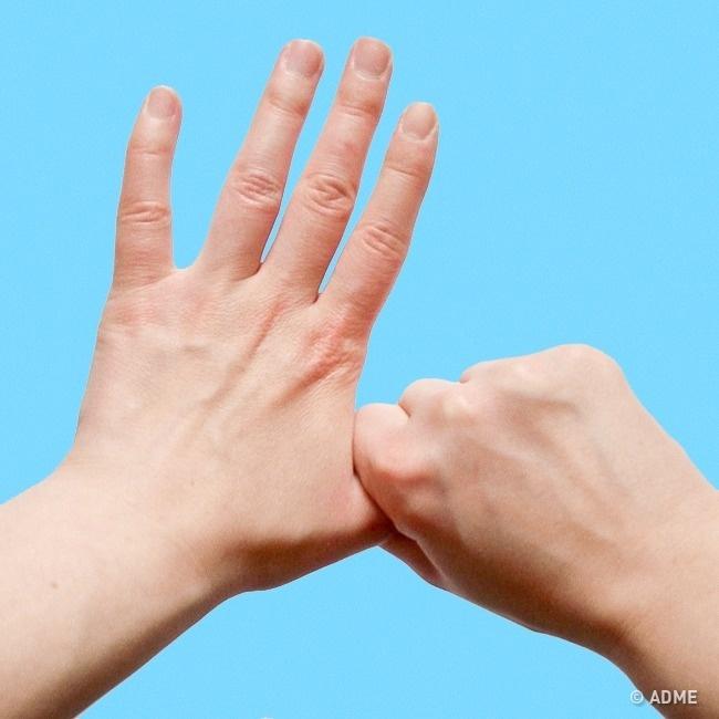 Что будет, если держаться за средний палец 5 минут