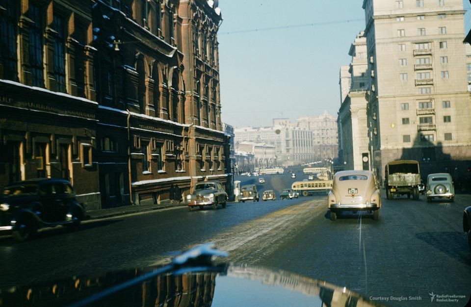 Дороги СССР 1950-х глазами американского шпиона
