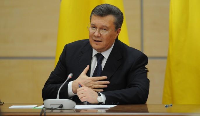 Беглый Янукович рвется погов…