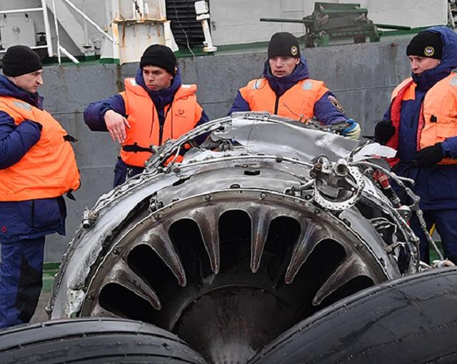 СМИ: эксперт нашел подтверждение версии взрыва Ту-154