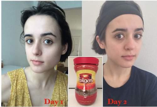 Я умывалась неделю, добавляя кофе, и результаты не были тем, чего я ожидала