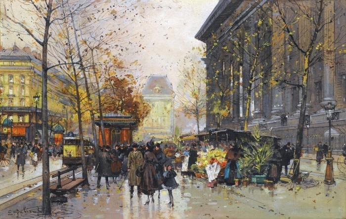 «Серая роза»: Сдержанная красота Парижа XIX-XX веков в «маленьких гуашах» истинного француза