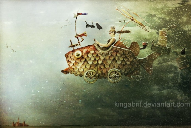 Фотоманипуляции фантазерки Kingabrit