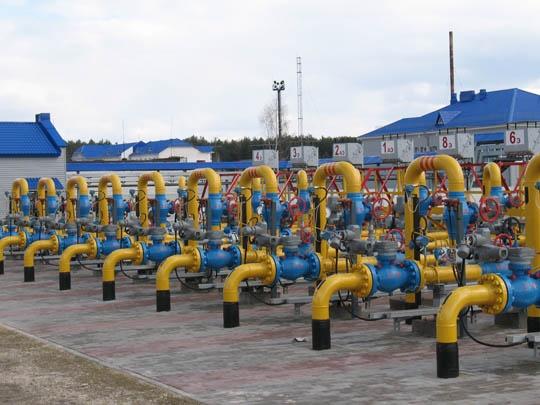 Запасы газа вПГХ Украины занеделю сократились почти на5%