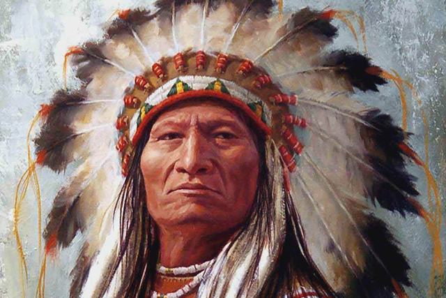 У старого индейца спросили...