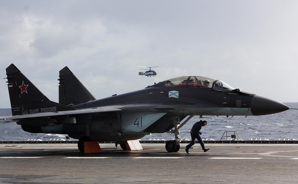 Палубный МиГ-29К хорошо зарекомендовал себя в Сирии