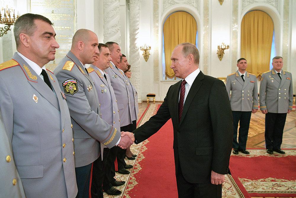 Владимир Путин заявил об освобождении от террористов более 90% Сирии