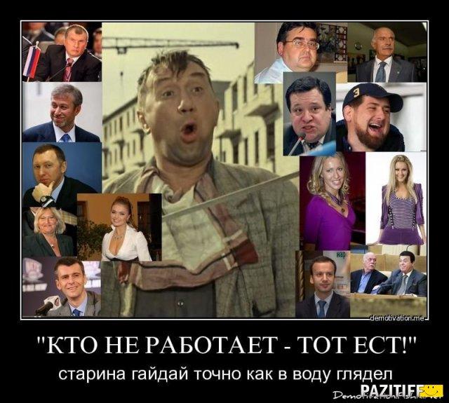 Беда России не дураки и не дороги, но элиты