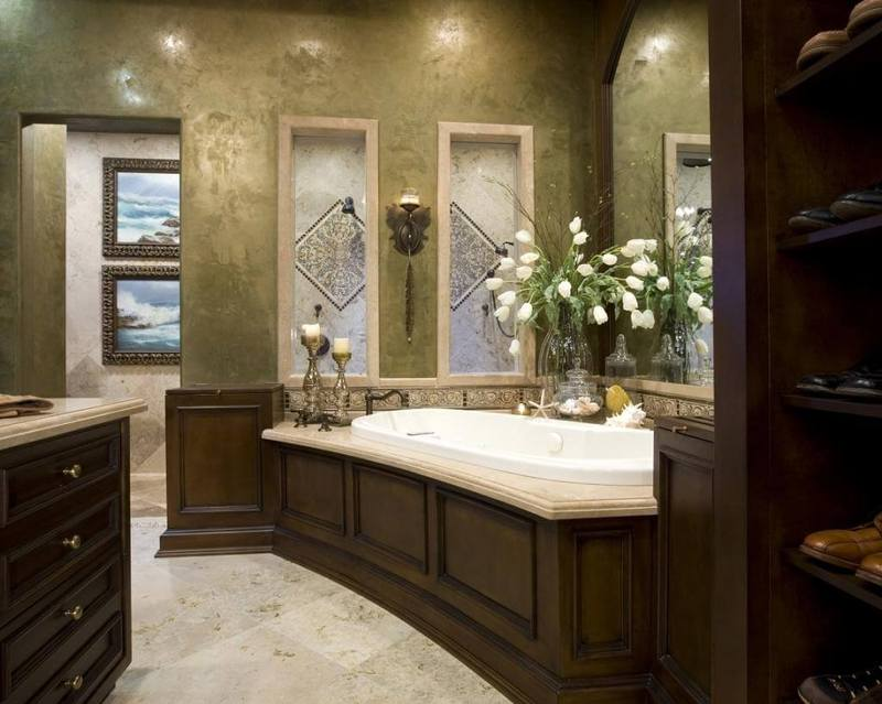 Если не кафель: Какой еще может быть отделка стен ванной