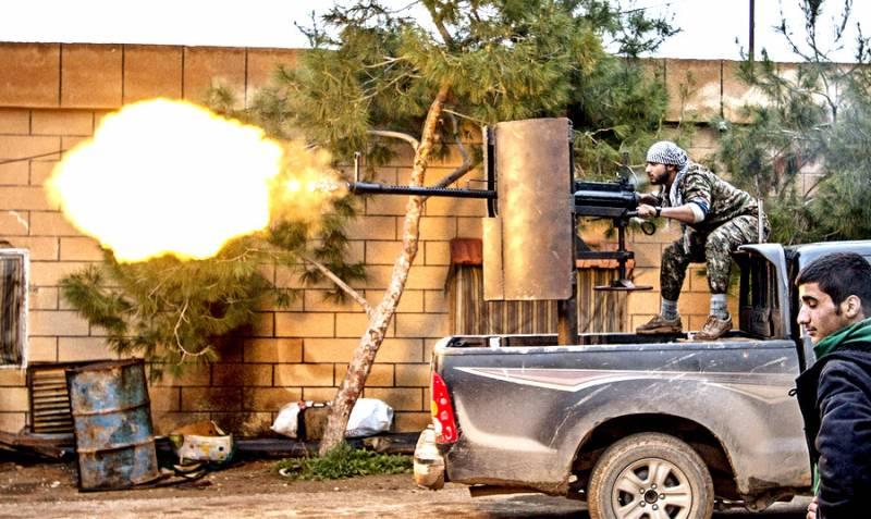 Зачистка последнего оплота ИГИЛ в Сирии: кадры с передовой