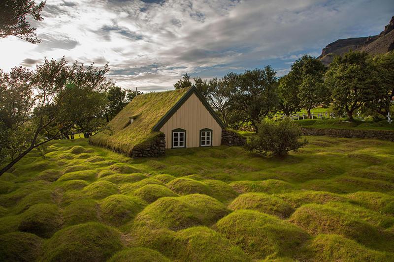 2. Хофскиркья виды, исландия, красота, фото