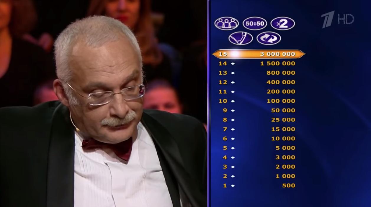Главный редактор «Кто хочет стать миллионером?» обвинил Александра Друзя в попытке подкупа