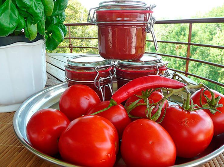 Что сделать из помидоров в домашних условиях