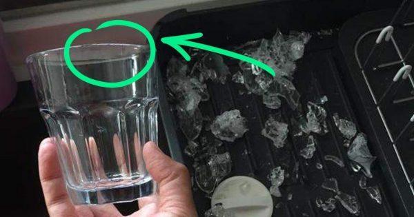 Сестра взяла в руки граненый стакан и превратила его в маленький шедевр!