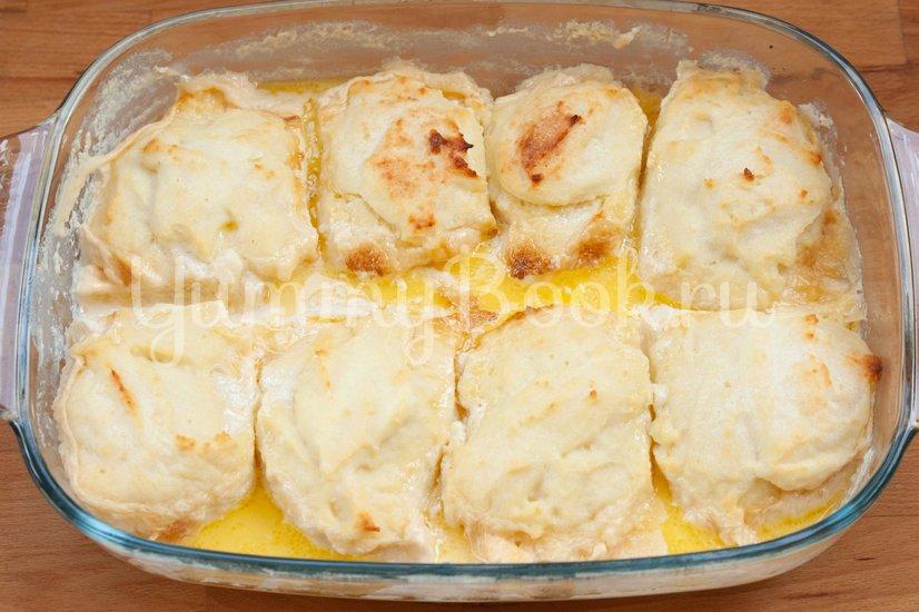 Сырники, запеченные в молочном соусе - шаг 4