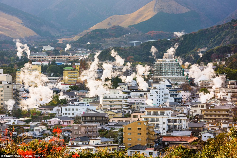 Добро пожаловать в преисподнюю: японский город Беппу, который стоит на вулкане