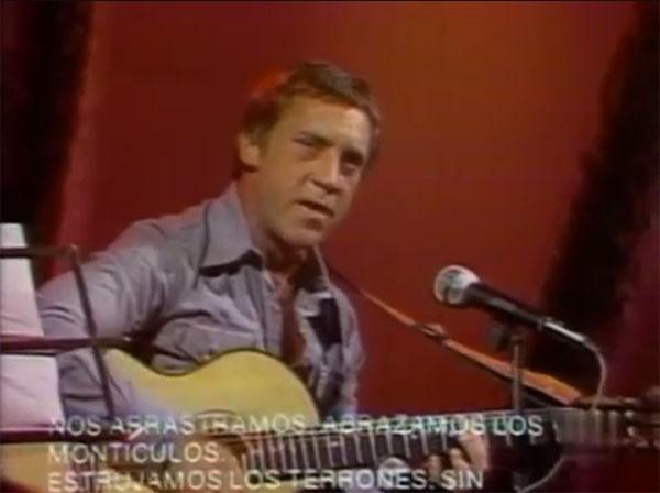 Выступление В. С. Высоцкого на мексиканском телевидении. 1977 год