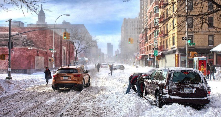 Как справиться с заносом автомобиля в зимнее время?