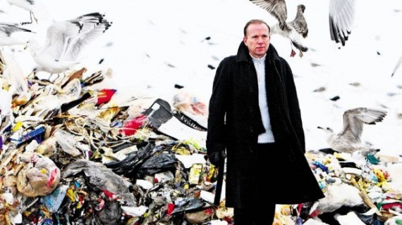Человек, который очищает весь мир от мусора