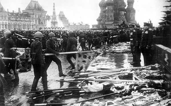 Как окончить войну на Красной площади
