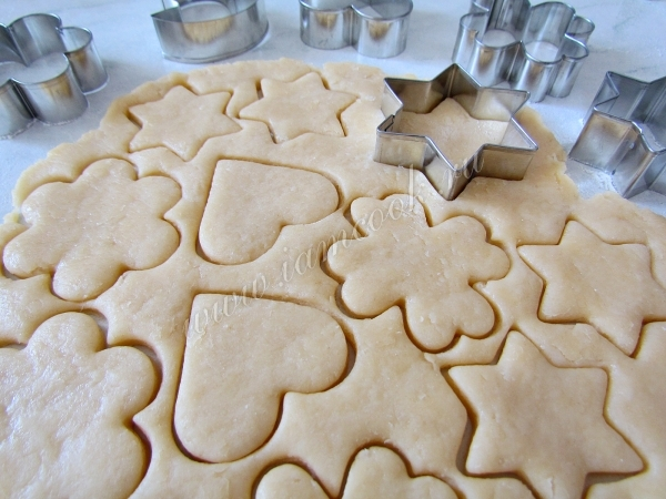 Как сделать тесто на печенье в формочках 372